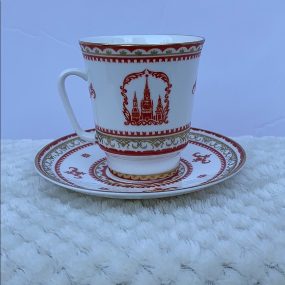 Other - Lomonosov Russian Teacup & Saucer